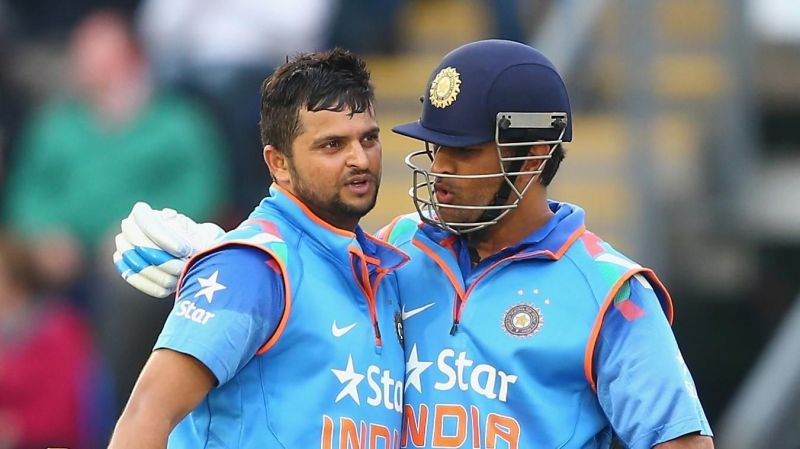 Raina and Dhoni