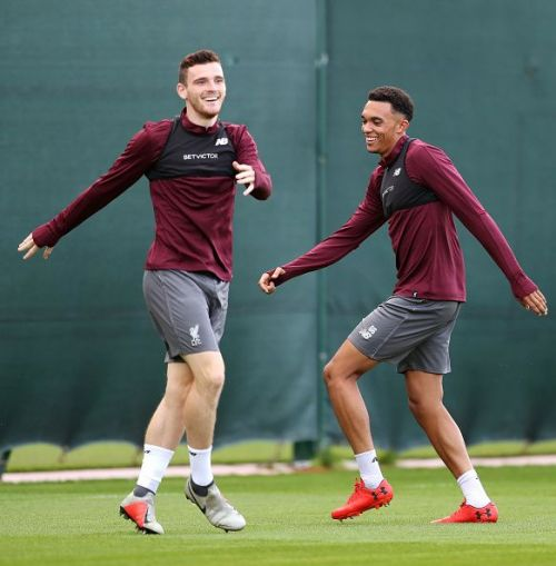 Robertson and Alexander- Arnold arguably the best full-backs in the world