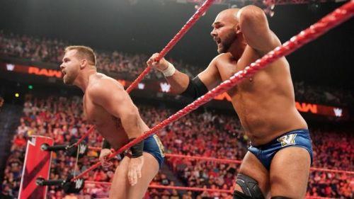 Scott Dawson has wrestled one match more than his partner Dash Wilder