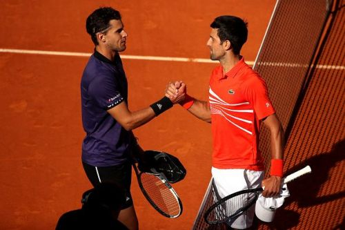 Djokovic defeated Thiem in Madrid earlier this year