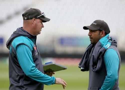 England and Pakistan Net Session