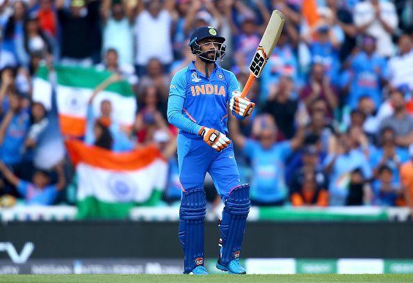 भारत बनाम न्यूजीलैंड के अभ्यास मैच में अर्धशतक जड़ने के बाद रविंद्र जडेजा