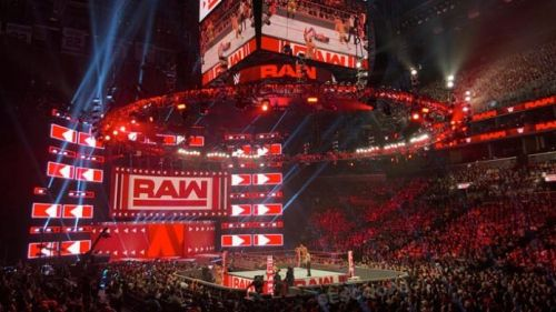 Image result for wwe raw arena