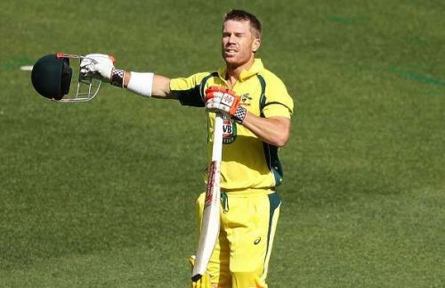David Warner eventually called off his net session after the incident