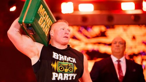 A surprise Brock Party on RAW?