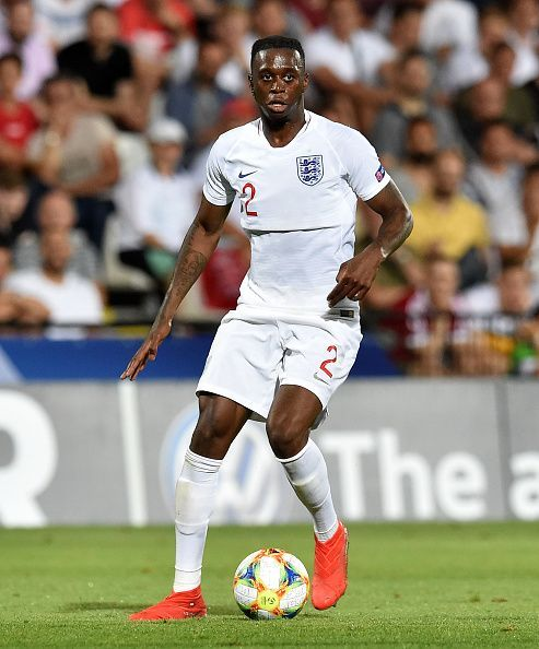 - Wan-Bissaka now represents the England U-21 side
