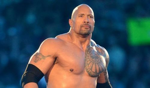 The Rock was in one of these matches.