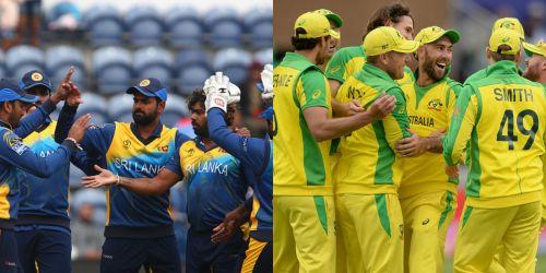 श्रीलंका और ऑस्ट्रेलिया की टीमें