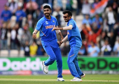 Jasprit Bumrah and Yuzvendra Chahal are two vital players in India's bowling attack