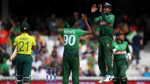 Mustafizur Rahman's tight death overs ensured the victory