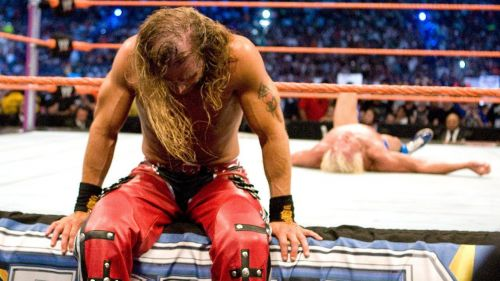 Michaels reluctantly retired Ric Flair with Sweet Chin Music at WrestleMania 24.