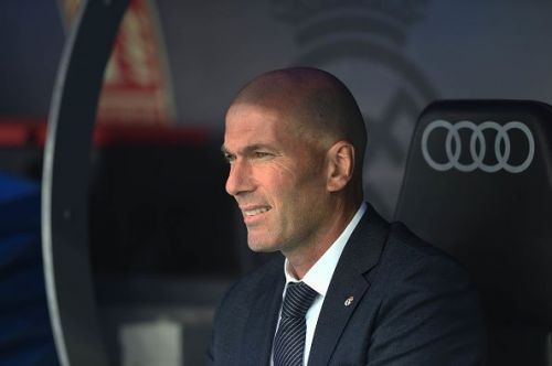 Zidane's summer project is up and rolling