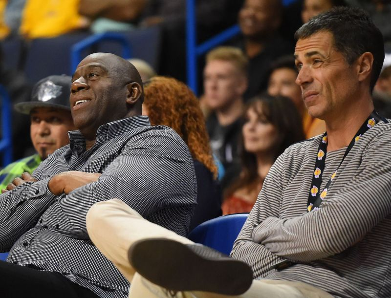 Magic Johnson did not have a successful stint as Director of Basketball Operations
