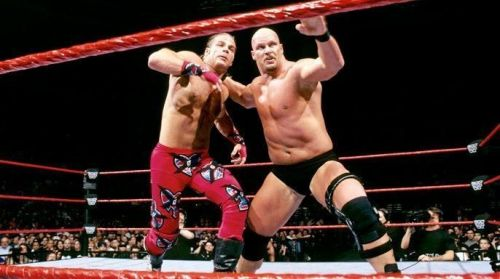 Austin and Michaels made history and ushered in a new era during their WrestleMania 14 title match.
