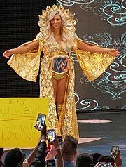 Flair as SmackDown Women's Champion