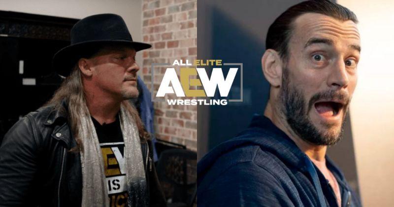 Chris Jericho and CM Punk.