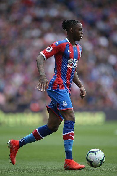 Crystal Palace's Aaron Wan Bissaka (AWB)