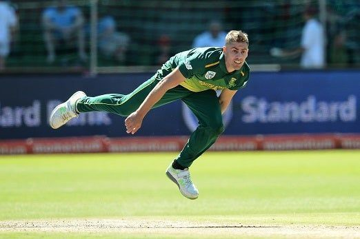 Nortje was ruled out of the IPL and eventually of the World Cup due to a fractured hand