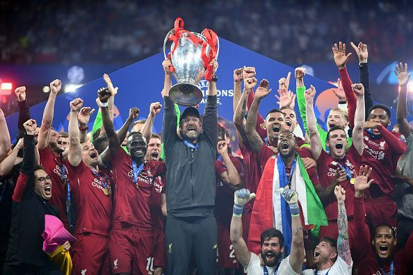 Liverpool lifted the UCL for the sixth time
