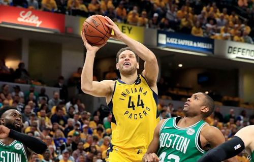 Bojan Bogdanovic has impressed during his two-year spell with the Indiana Pacers