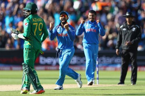 Arch rivals India and Pakistan will lock horns at Old Trafford today