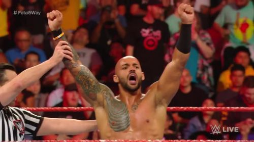 Ricochet has become the number 1 contender for the United States Championship