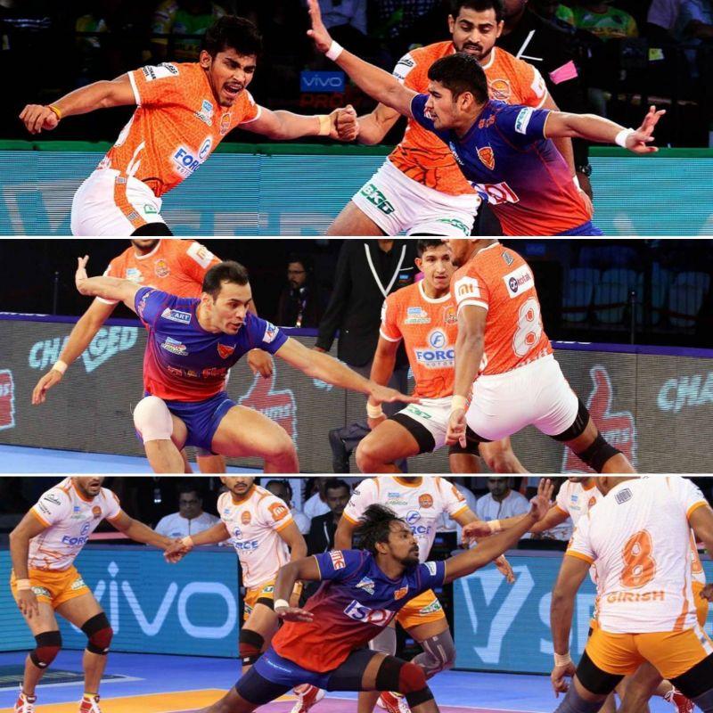 The raiding trio of Naveen, Meraj, and Chandran will lead the team
