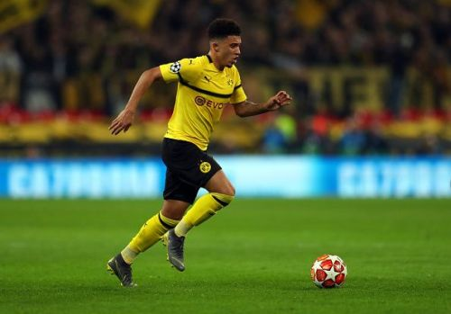 Jadon Sancho would cost Manchester United more than £100m