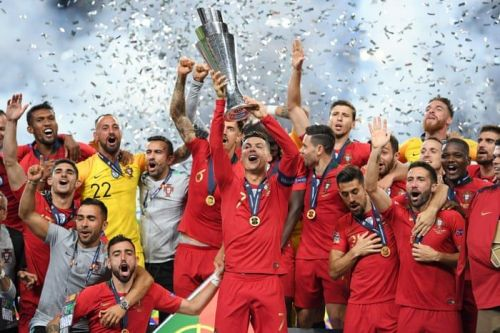 Ronaldo lifts the UEFA Nations League title