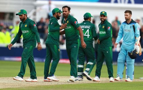 England v Pakistan - Pakistan took down the pre-tournamnet favorites