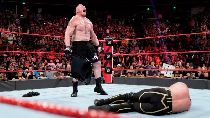 Lesnar had a chance to become Universal Champion this week