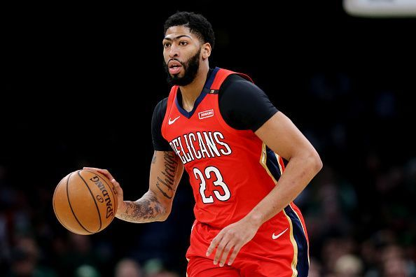 Anthony Davis is among the Celtics