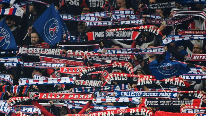 Paris Saint-Germain fans - cropped