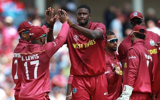 Windies Team Take celebration From Opponents Wicket in 2019 world cup