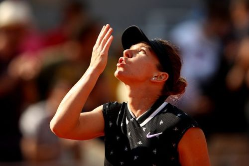 Defending champion Simona Halep has come into her own as the tournament has progressed.