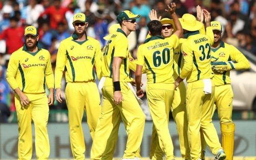 Australia will start as firm favourites to win today