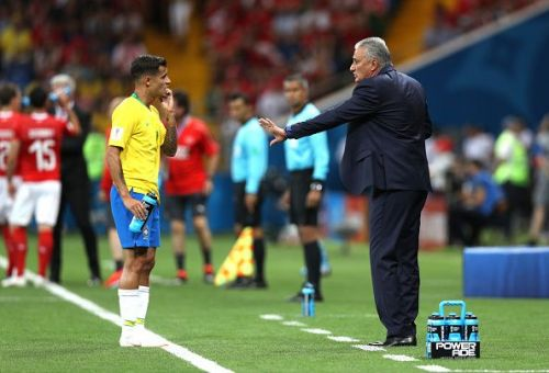 Tite and Coutinho will have to inspire Brazil in the absence of team talisman Neymar