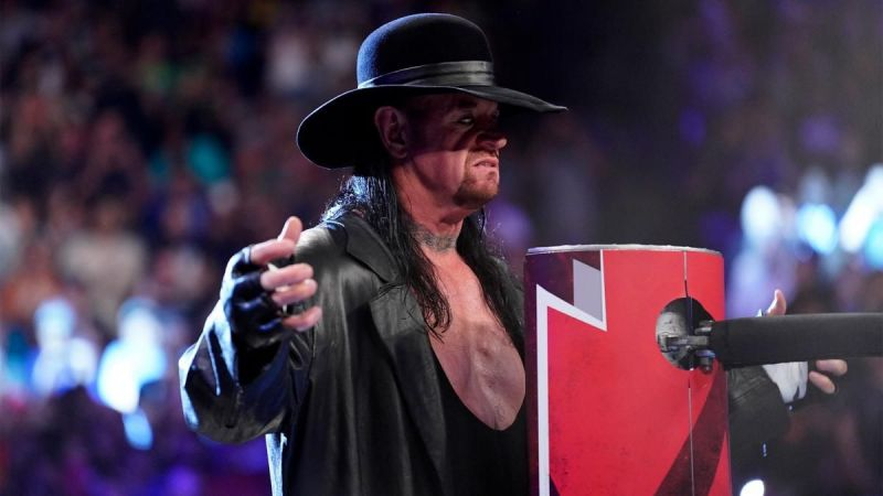 The Undertaker on RAW