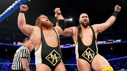 Would WWE really put the titles around the new guys this soon?
