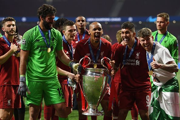 Liverpool wins the Champions League