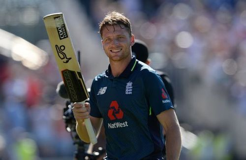 Jos Buttler suffered a hip injury in the first innings of England's game against Bangladesh