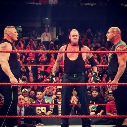 The Three Legends of WWE