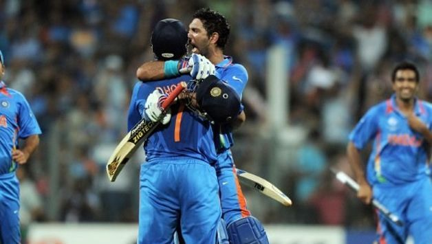 India after winning 2011 World Cup