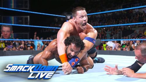 At least we got to see the match on Smackdown.