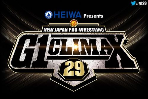 The 2019 G1 Climax starts on July 6, 2019