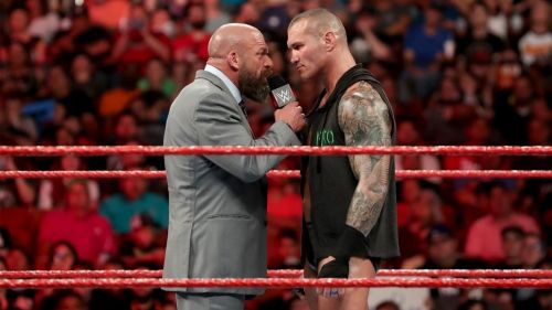 The Triple H vs. Randy Orton match could be huge!