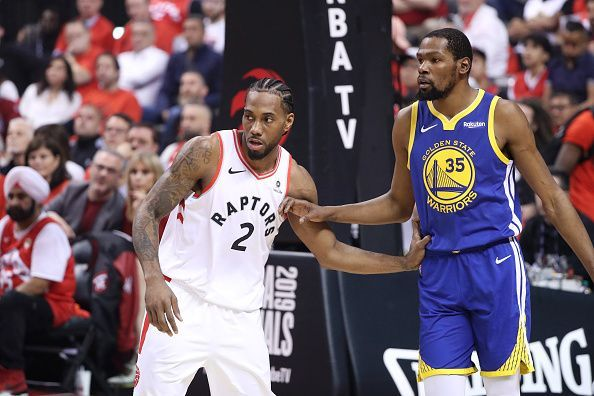 Kevin Durant and Kawhi Leonard are apparently looking to team up