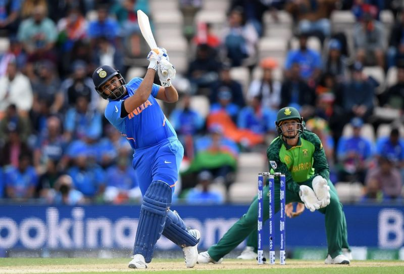 Rohit Sharma has hit form in the first game of the World Cup