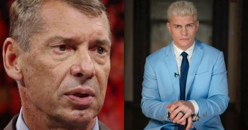 Vince McMahon and Cody Rhodes