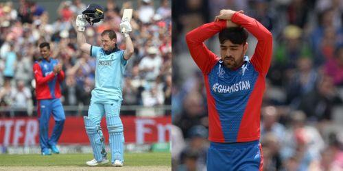 इयोन मॉर्गन और राशिद खान